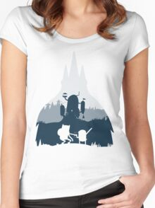 Ice King Silhouette Women's Fitted Scoop T-Shirt