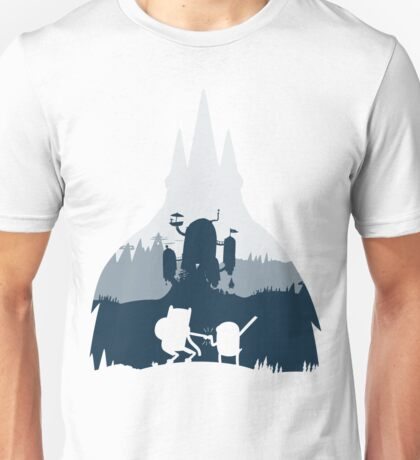 Ice King Silhouette Unisex T-Shirt
