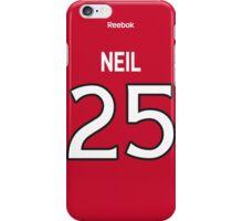 Ottawa Senators Chris Neil Jersey Back Phone Case iPhone Case/Skin