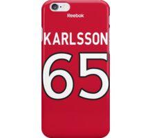 Ottawa Senators Erik Karlsson Jersey Back Phone Case iPhone Case/Skin