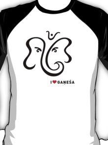 I LUV GANESHA | 01 T-Shirt
