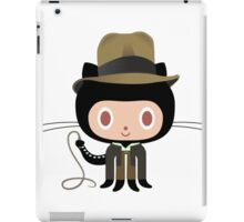 Dr. Indiana-to-cat iPad Case/Skin