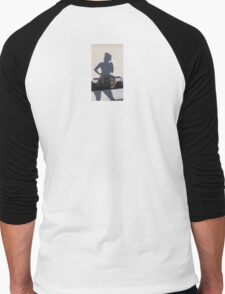 Shadow Flower Sniffer Selfie Men's Baseball ¾ T-Shirt