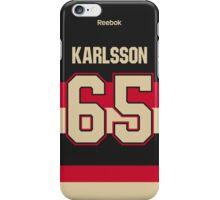 Ottawa Senators Erik Karlsson Alternate Jersey Back Phone Case iPhone Case/Skin