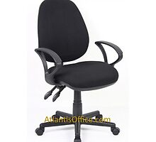 Lennox Fabric Operator Chair at just £57 by atlantisofficee