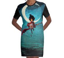 Kubo Graphic T-Shirt Dress