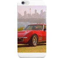 Red Corvette iPhone Case/Skin