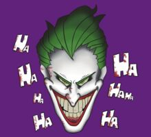 The Joker Laughs by Sirroland
