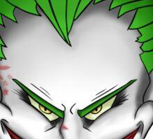 The Joker Laughs Sticker