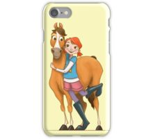 Gallop and Daisy iPhone Case/Skin