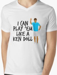 Ken Doll Heart Attack Mens V-Neck T-Shirt