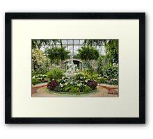 Niagara Falls Greenhouse Framed Print