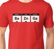 Bazinga Periodic Table Funny Quote Unisex T-Shirt