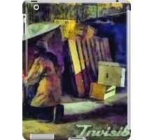 Invisible people iPad Case/Skin