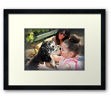 Missed You So Much! Framed Print