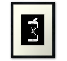 Electronic Fruit Punch Framed Print