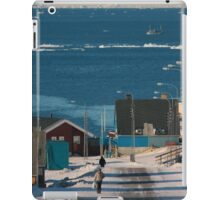 Street in Ilulissat, Greenland iPad Case/Skin