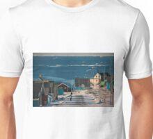 Street in Ilulissat, Greenland Unisex T-Shirt