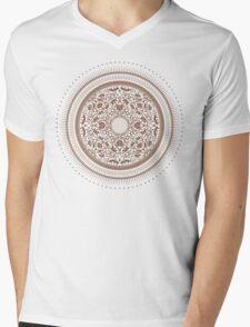 Indigo Home Medallion  Mens V-Neck T-Shirt