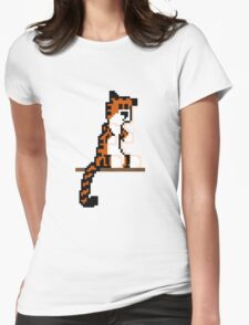 Pixel Hobbes Womens Fitted T-Shirt