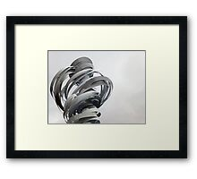 Twister Sculpture Framed Print