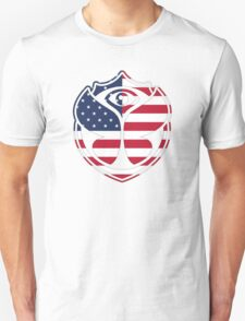 Tomorrowland American logo - USA Unisex T-Shirt