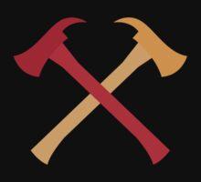 Fireman axes crossed Baby Tee