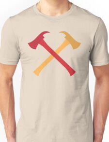 Fireman axes crossed Unisex T-Shirt