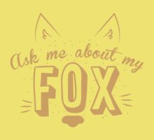 Ask me about my FOX Kids Tee