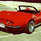 Curvy red Vette by Andrew Felton