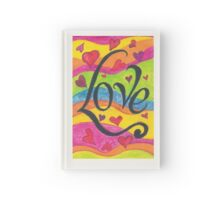 Love doodle Hardcover Journal