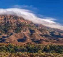 Landscape Of The Aroona by Mike Arnott
