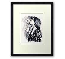 How To Disappear  Framed Print