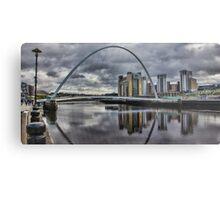 Gateshead Millennium Bridge Metal Print