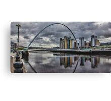 Gateshead Millennium Bridge Canvas Print