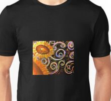 Sunflowers in the Wind Unisex T-Shirt