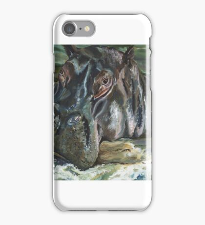 A Day at the Spa iPhone Case/Skin
