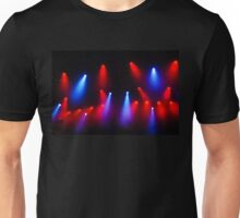 Music in Red and Blue - Montreal Jazz Festival Unisex T-Shirt