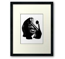 Panda Bear - Girder Framed Print