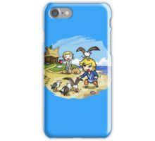 Zelda Wind Waker Link and Aril iPhone Case/Skin