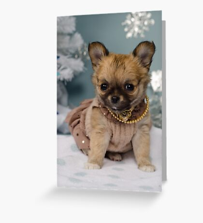 Cover Girl Greeting Card