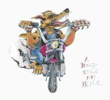 A dingo stole my bike RH Kids Tee