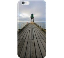 Whitby Jetty, North Yorkshire iPhone Case/Skin