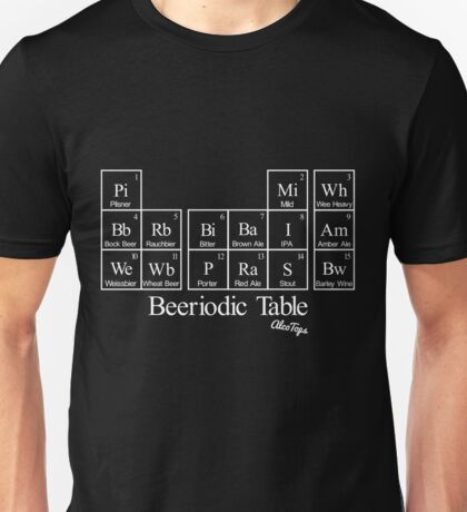 Beeriodic Table light Unisex T-Shirt