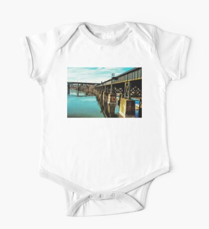 Bridge Over Troubled Waters One Piece - Short Sleeve