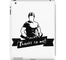Thanks To You iPad Case/Skin