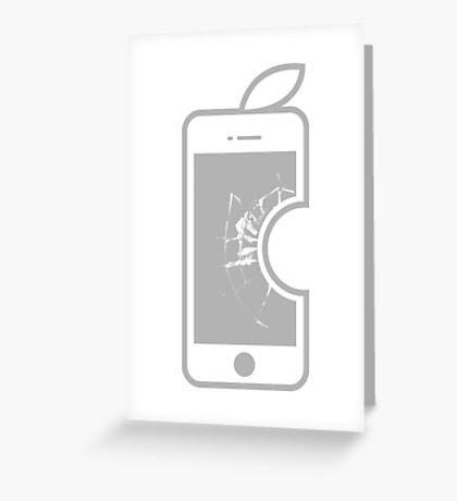 Electronic Fruit Punch 2 Greeting Card