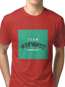 Team Refugees Tri-blend T-Shirt