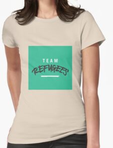 Team Refugees Womens Fitted T-Shirt