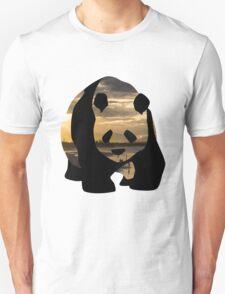 Panda Bear - Holy Beach Unisex T-Shirt